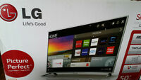 "50"" LG LED Smart Tv Brand New Can Deliver"