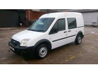 2009 59 FORD TRANSIT CONNECT 1.8 T230 HR DCB 1D 90 BHP 5 SEATER CREW VAN X MOD F