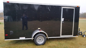 "New 2017 Cargo Trailer  6X15'6"" V"" Nose 3500 lbs  8 10 12 7 16"