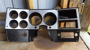 1981-1987 Chevy/GM Dash Bezel