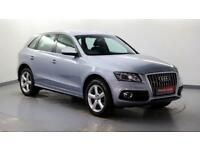 2010 Audi Q5 2.0 TDI quattro S Line (170 PS) Diesel silver Automatic