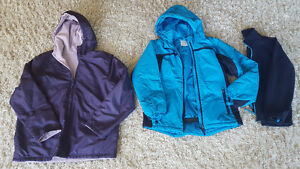Girl's Size 14 Fall and Winter Coats / Jackets