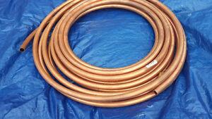 "3/4"" Copper tubing, Concrete reinforcement mesh, waterprfg dimpl"