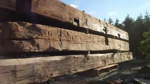 Hand Hewn Barn Beams. Hundreds to choose from! Kitchener / Waterloo Kitchener Area image 3