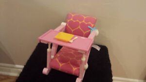 """High Chair for 18"""" doll"""