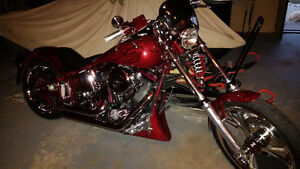 Custom 1340 Chopper\Softail