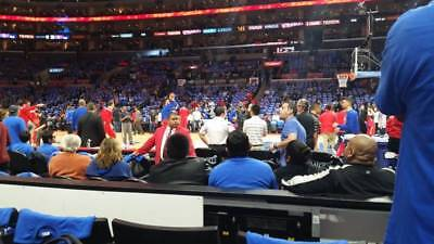2 TICKETS UTAH JAZZ @ LA CLIPPERS 4/10 *CLIPPERS BENCH Row 1* for sale  Irvine
