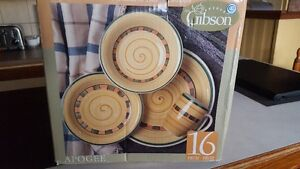 Brand New Set of Gibson Dishes