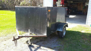 Custom Enclosed Cargo Trailer