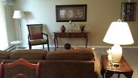 2 Bdr. 1.5 Bathrooms - Large Livingroom/Dining Rm.  Immaculate
