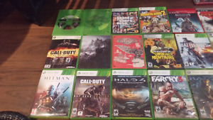 5$ ea 360 and ps3 10 for 2 unopened games and some others.