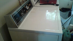 Matching set of washer and dryer