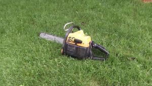 Scie a chaine 55cc chain saw
