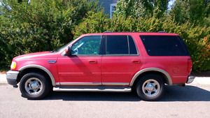 2002 Ford Expedition Eddie Bauer LOW KM