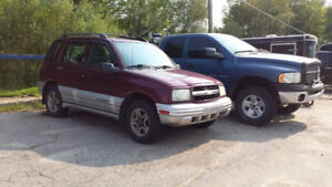 2002 Chevy tracker for sale