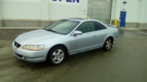 1998 Honda Accord Coupe (2 door) leather fully laoded