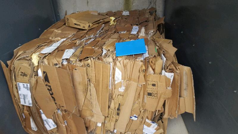 Baled Cardboard bought