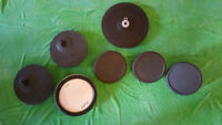 electronic drum triggers pads cymbals / tambours cymbales