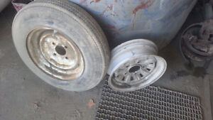 """12 """" RIMS AND TIRE London Ontario image 2"""