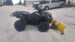"""2007 450 king quad with 50"""" moose snow blade"""