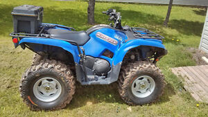 Grizzly 550 EFI with Power Steering