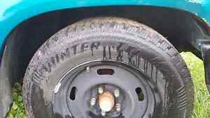 Like new winter tires 215/70R15 with rims Kingston Kingston Area image 3