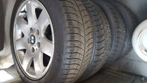 2005 BMW Rims and snow tires