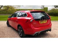 2013 Volvo V60 D2 R-Design Manual With DAB Ra Manual Diesel Estate