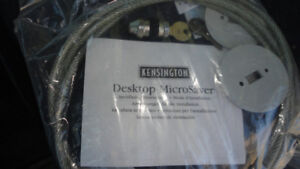 Kensington Microsaver  Cable Locking Kit