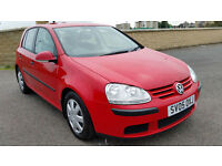 VOLKSWAGEN GOLF 1.9 TDI, LOW MILEAGE