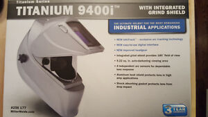 Miller Titanium 9400i auto darkening welding helmet for sale