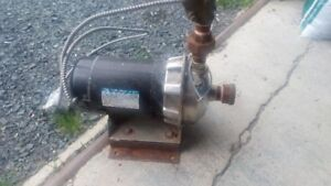 INDUSTRIAL (GOULD) WATER PUMP ASSEMBLY
