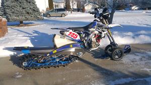 Yamaha snowbike