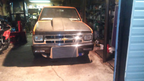 S10 1984 twin turbo projet a terminer