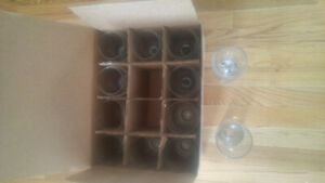 beer and wine glasses brand new