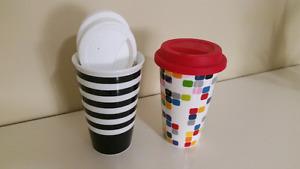Ceramic Travel Mugs (ModCloth)