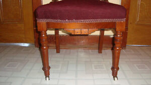 ANTIQUE NEEDLEPOINT PARLOUR CHAIRS Cornwall Ontario image 3