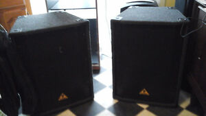 Updated - Behringer Eurolive B1520 PA/DJ Speakers!!