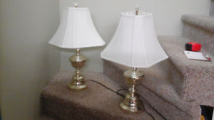 """Pair of 24"""" high lamps"""
