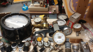 Various Pressure Gauges - Great for steampunk projects