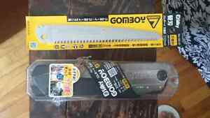 Brand new Silky Gomboy 210 folding saw with replacement blade.