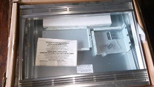 Microwave oven built in trim kit