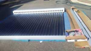 Solar Water Heater with Vacuum Tubes