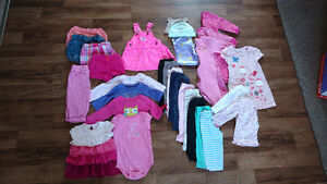 6-12 month baby girl clothing - LOT
