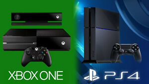 $$$ BUYING AN XBOX ONE OR PS4 BUNDLE CASH IN HAND $$$
