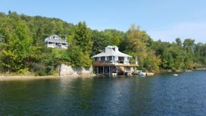 Three bedroom Cottage on McGregor Lake in July