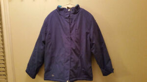 LADIES XL WINTER COAT IN BLUE (BRAND NEW WITHOUT TAGS/NEVER WORN