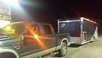Long Distance Towing available in Enclosed Trailer