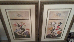 2 large pics 34.5Lx23w&1 canvas 34.5 inch length x1 ft