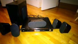 Samsung home cinema with 5 speakers and sub